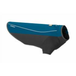 Manteau imperméable pour chien Cloud Chaser Ruffwear Taille XXS - Coloris bleu