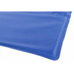 Matelas rafraîchissant bleu Trixie pour chien 50 cm × 40 cm