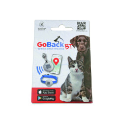 Médaille GoBack BT avec technologie Bluetooth pour chien et chat
