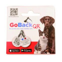 Médaille GoBack QR avec QR code pour chien ou chat