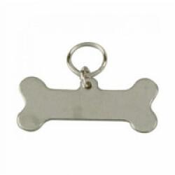 Médaille identité os pour chien et chat 40 mm
