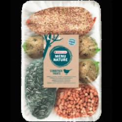 Mélange de nourriture pour oiseaux sauvages Versele Laga Menu Nature Combipack Treats Sac 1 kg
