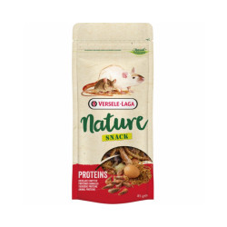 Mélange varié aux protéines animales Nature Snack Proteins Versele Laga pour rongeurs 85 g