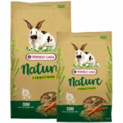 Mélange varié riche en fibres Nature Fibrefood Cuni Versele Laga pour lapins sensibles