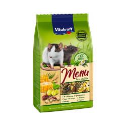 Menu Premium alimentation pour rats Vitakraft Sachet Fraîcheur 800 g