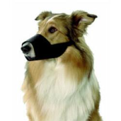 Muselière en nylon noir Taille XS - Chihuahua Whippet
