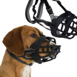 Muselière Muzzle-Flex pour chien T1 taille S tour museau 19 à 21 cm