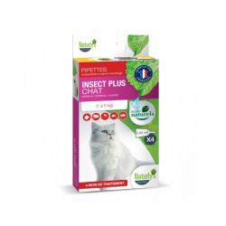 Naturlys soin antiparasitaire naturel pour chats 4 pipettes de 0.85 ml