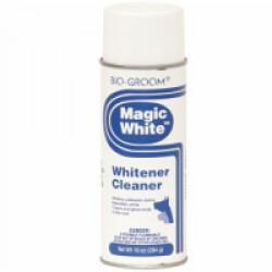 Nettoyant blanchissant Magic White pour pelage chien et chat