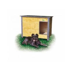 Niche isolée pour chien confort toit simple pan Mini
