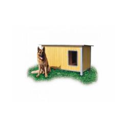 Niche isolée pour chien confort toit simple pan Extra Large