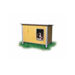 Niche isolée pour chien confort toit simple pan Maxi
