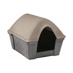 Niche isolée Casa Felice en plastique pour chien Médium (68 x 82 x H 62 cm)