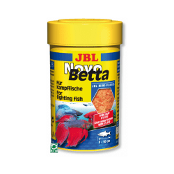Nourriture en flocons pour poissons betta combattant JBL NovoBetta 100 ml