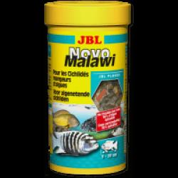 Nourriture poissons cichlidés en flocons JBL NovoMalawi