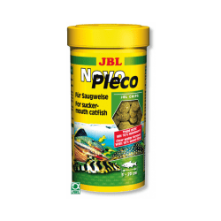 Nourriture pour poissons de fond herbivores JBL Novopleco 100 ml