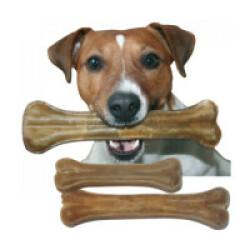 Os de peau pressé pour chien Bubimex - Lot de 25 (11 cm de 30 g)