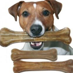 Os de peau pressé friandises pour chien