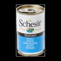 Pâtée en gelée pour chat Schesir - Boîte 140 g Thon