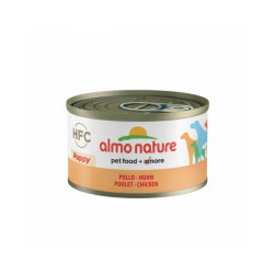 Pâtée pour chiot HFC Natural Almo Nature - Lot de 6 boîtes de 95 g