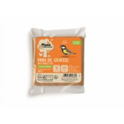 Pain de graisse pour oiseaux du jardin 300 g Plume & Cie Saveur vers de farine séchés