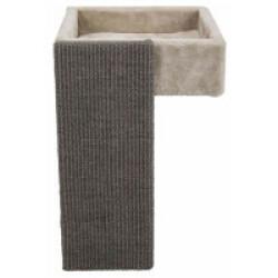Panier confortable avec griffoir pour étagère - 33 x 48 x 37 cm