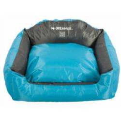 Panier coussin d'extérieur pour chien Natuna M-Pets bleu et gris Taille L