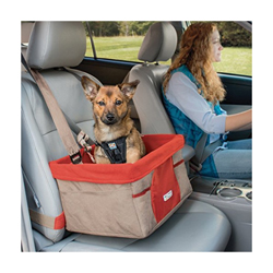 Panier chien pour voiture Booster Seat rouge