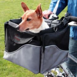 Panier vélo avant de luxe pour chien Friends On Tour