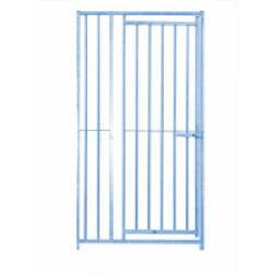 Panneau Eco + Barreaux avec porte pour construction de chenil en kit pour chien Lg 1 m