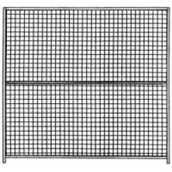 Panneau de chenil grillagé -  2M x 1,5M