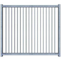 Panneau d'enclos pour chiot à barreaux Small - 0,83 x 0,95 m Sans Porte