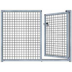 Panneau d'enclos pour chiot grillagé Small - 1 x 1,1 m Avec Porte