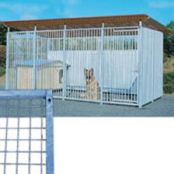 Panneau Pro maille grillage pour construire chenil ou chatterie en kit