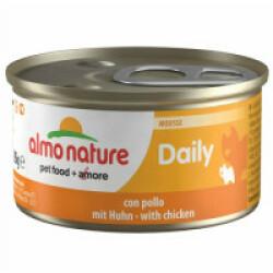 Pâtée pour chat Almo Nature Daily Menu - lot 6 boîtes 85 g Mousse avec poulet