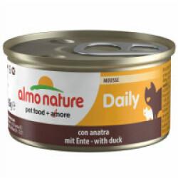 Pâtée pour chat Almo Nature Daily Menu - lot 6 boîtes 85 g Mousse avec canard