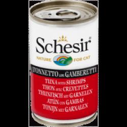 Pâtée pour chat en gelée Schesir - Boîte 140 g