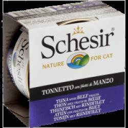 Pâtée pour chat en gelée Schesir - Boîte 85 g