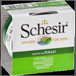 Pâtée pour chien Schesir en gelée - Boîte 150 g