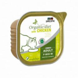 Pâtée Specific pour chats F-BIO-W CHICKEN 7 boîtes 100 g