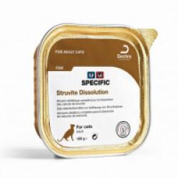 Pâtée Specific pour chats FSW Struvite Dissolution 7 boîtes 100 g