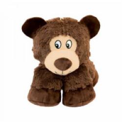 Peluche ours à couinement pour chien KONG Stretchezz Legz Large 29 cm
