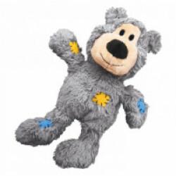 Peluche ours douce pour chien KONG Knots 14 cm