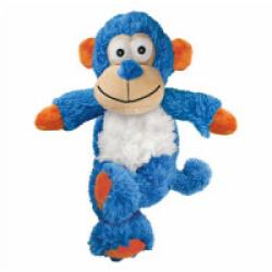 Peluche singe à couinement avec corde pour chien KONG Cross Knots S/M 23 cm