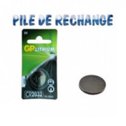 Pile bouton lithium CR2032