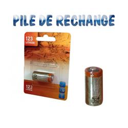 Pile ronde au Lithium 3 Volts CR123