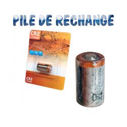 Pile Lithium de rechange CR2 3 volts