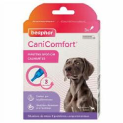 Pipettes calmantes CaniComfort aux phéromones pour chien et chiot - 3 pipettes