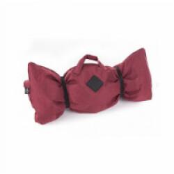 Plaid canapé ou voiture Croisette pour chien Coloris Rouge - 115 x 70 cm