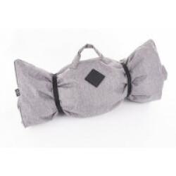 Plaid canapé ou voiture Croisette pour chien Coloris Gris - 115 x 70 cm